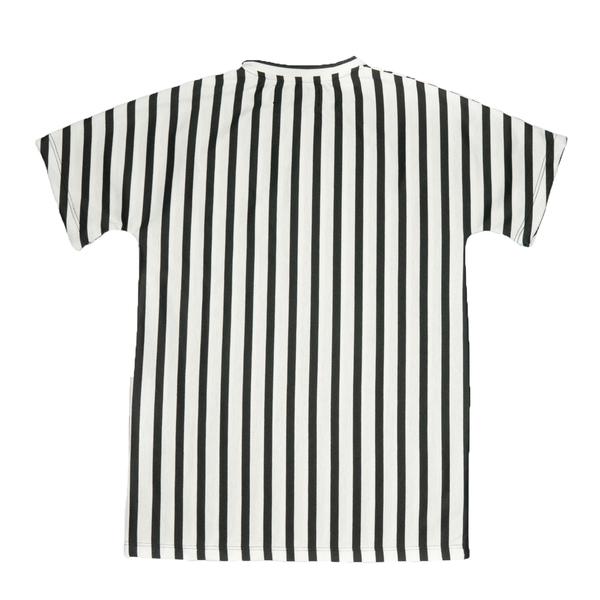 même REMI Kimono Striped Shirt
