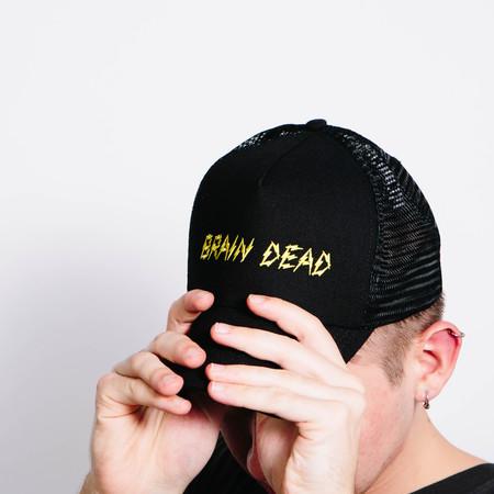 Men's Brain Dead Bolt Hat