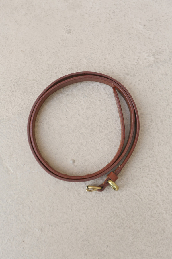 A Détacher Amelia Leather Belt in Natural