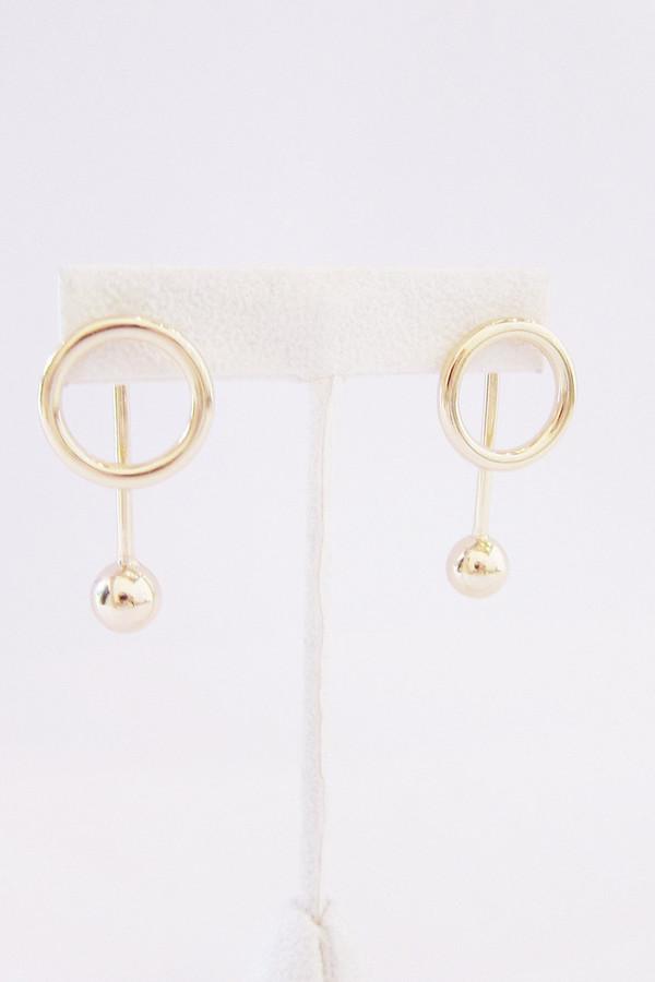Faux/Real Friends Earrings (Gold)