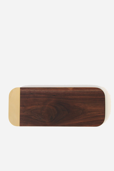Elijah Leed Small serving tray in walnut