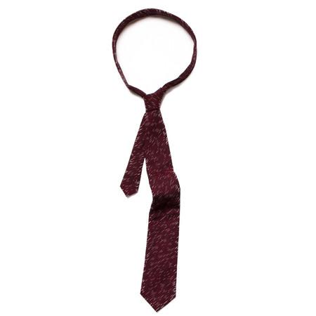 Corridor Flecked Maroon Tie