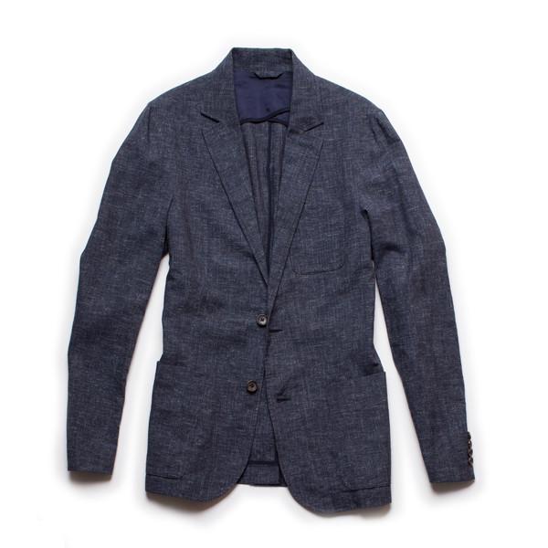 Men's Corridor Linen Check Blazer