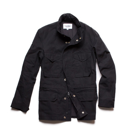 Corridor Waxed Cotton M65 - Black