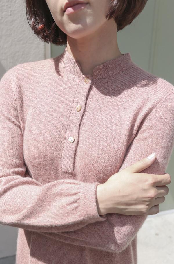 Halston Vintage 1970's Cashmere Knit Dress