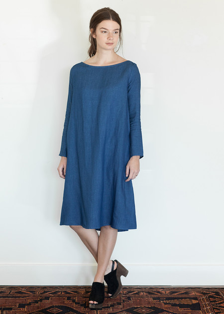 Megan Huntz Janet Dress in Denim