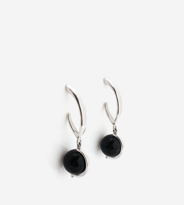 Luz Ortiz Onyx Maia Earrings