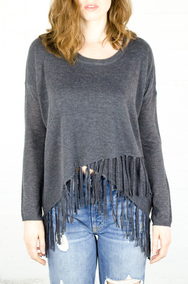 Heartloom Charcoal Astor Sweater