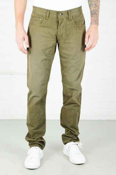 Men's Rag and Bone Fit 2 Jean - Distressed Loden