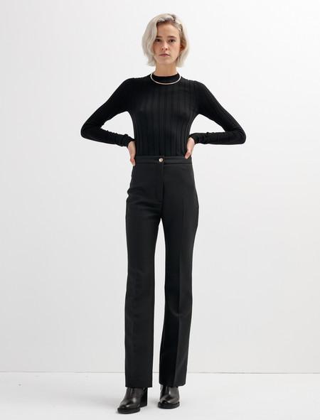 Acne Studios Myla Matte Trousers
