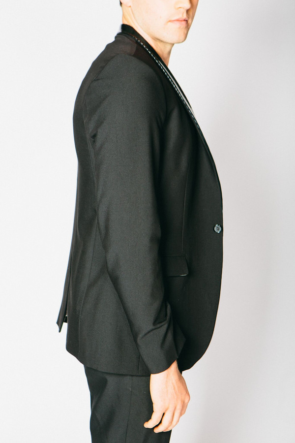Men's Any Old Iron PVC Lapel Blazer