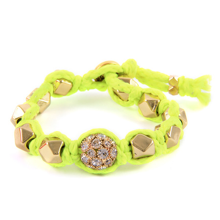 Ettika Neon Faceted Beads Bracelet