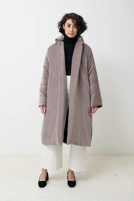 Toit Volant Maya Jacket - grey velvet