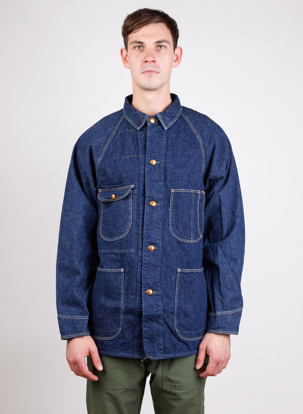 Men's Orslow 50's Coverall Denim One Wash