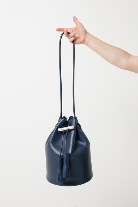 Building Block Bucket - navy