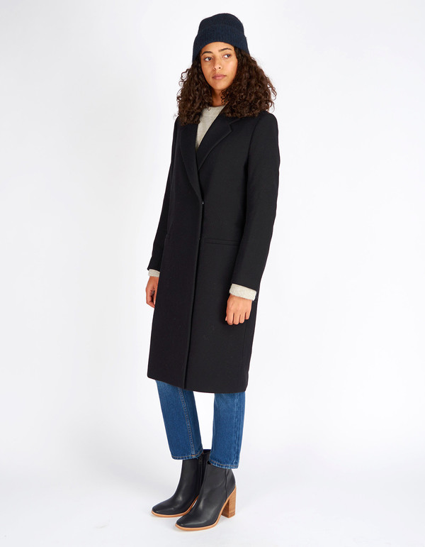 Filippa K Lauren Coat Black