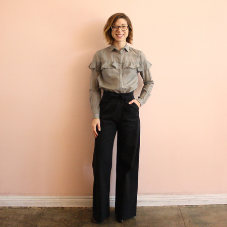 Loup Kerri Pants - Black