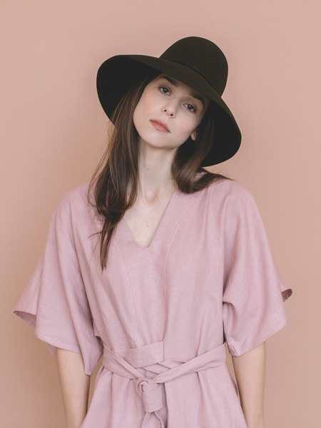 Brookes Boswell Pippin Felt Hat