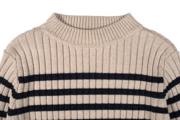 Micaela Greg Rib Stripe Sweater