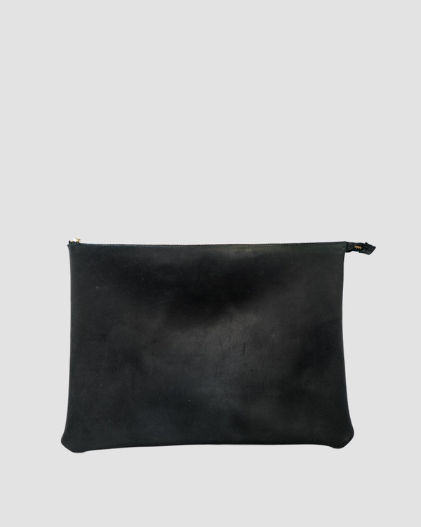 esby leather ESBY PORTFOLIO - BLACK