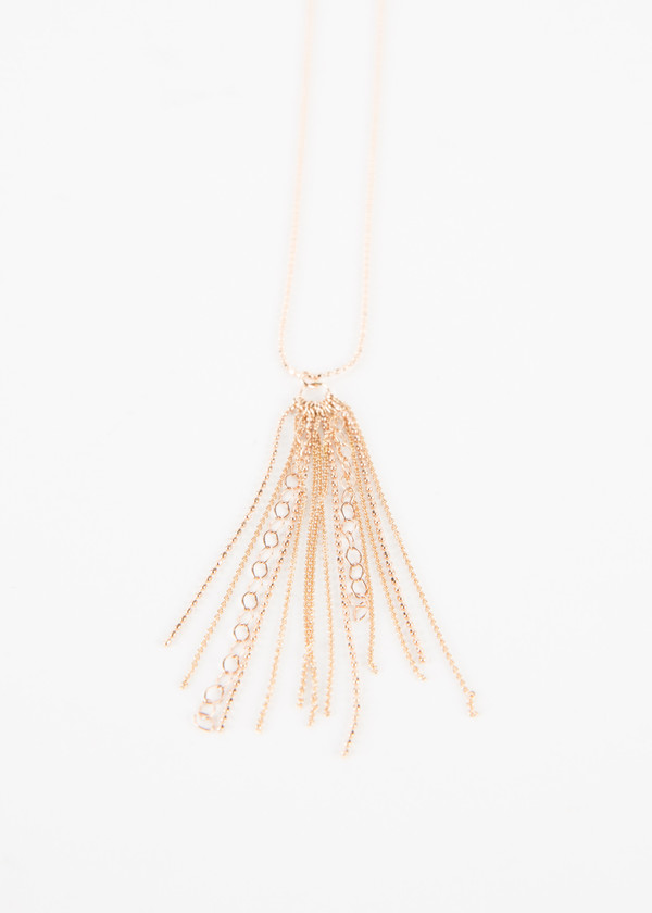 Ginette NY Long Unchained Necklace
