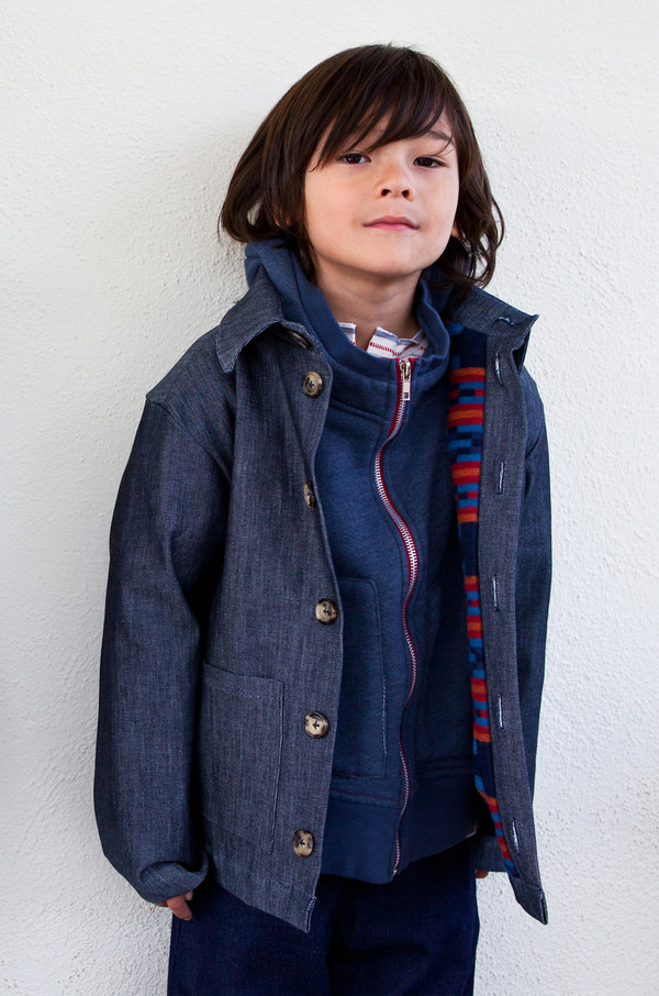 boy+girl SHIRT JACKET