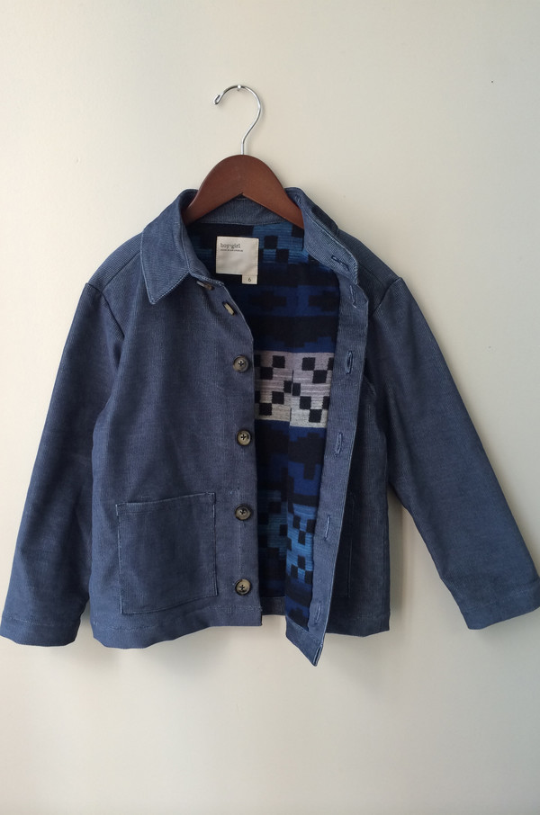 Kid's boy+girl SHIRT JACKET