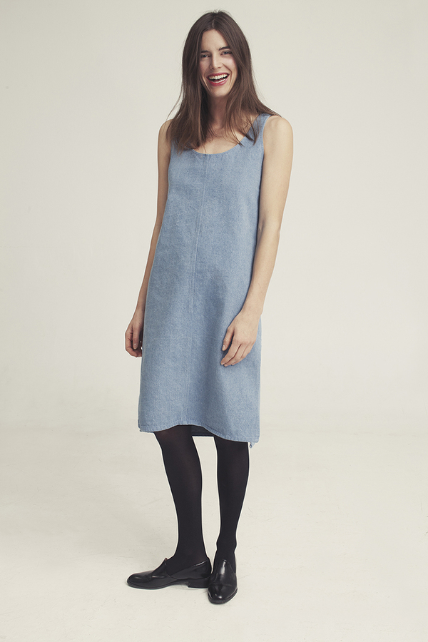 Ursa Minor Chao Dress Denim
