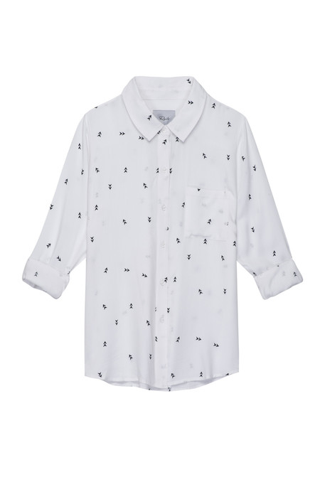 Rails Rocsi Button Down - Arrow Print