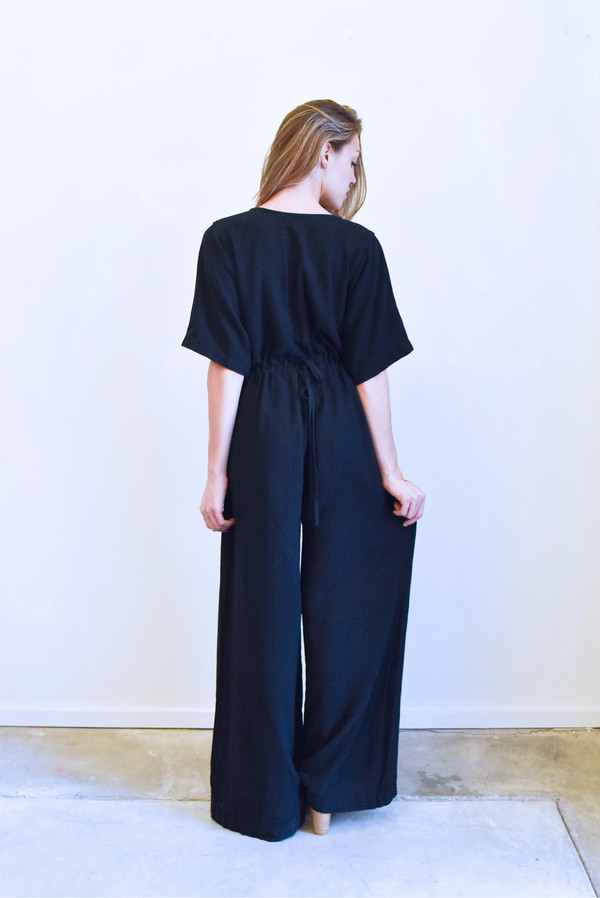 Esby Duffy Jumpsuit in Black