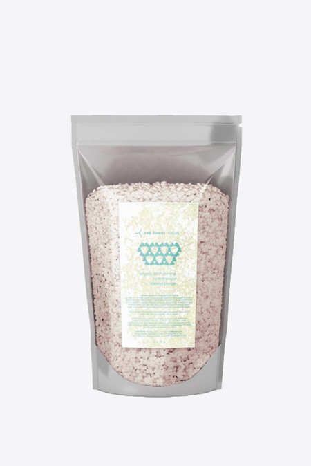 Red Flower Organic birch mineral hydrotherapy soaking plunge