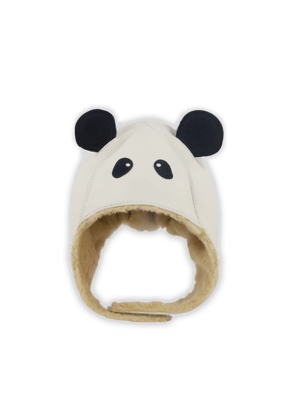 Donsje Aviator Panda Kids Hat