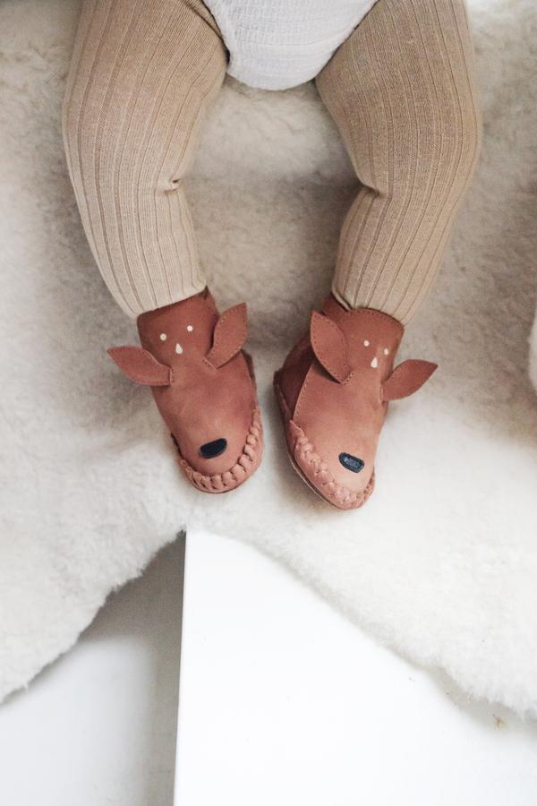 Donsje Deer Kapi Lining baby shoe