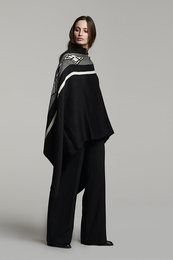 Diagonal Wrap - Black