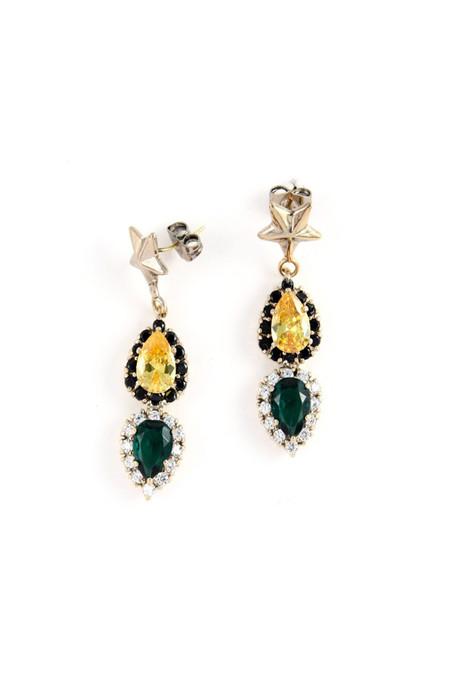 Iosselliani Anubian Jewels Star Earrings