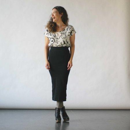 Gravel & Gold Figure Tube Skirt