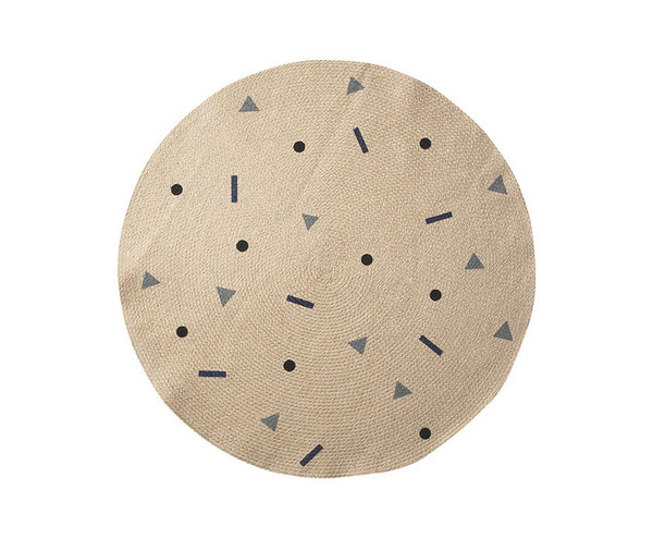 Ferm Living JUTE RUG (VARIOUS COLORS)