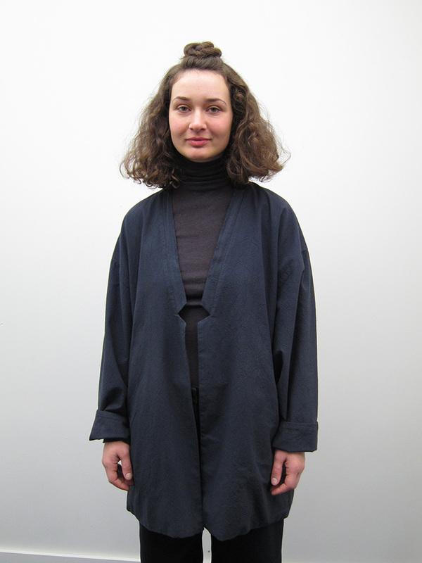 Lauren Manoogian Washi Blazer, Washed Black