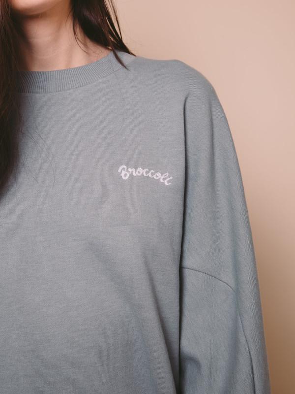 NEUL Vegetable Sweatshirt - Broccoli