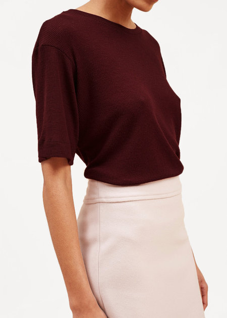 Waltz Fine-Ribbed Wool T-Shirt