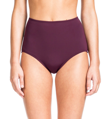 Beth Richards High Waist Bottom - Port HIGH WAISTED BOTTOM