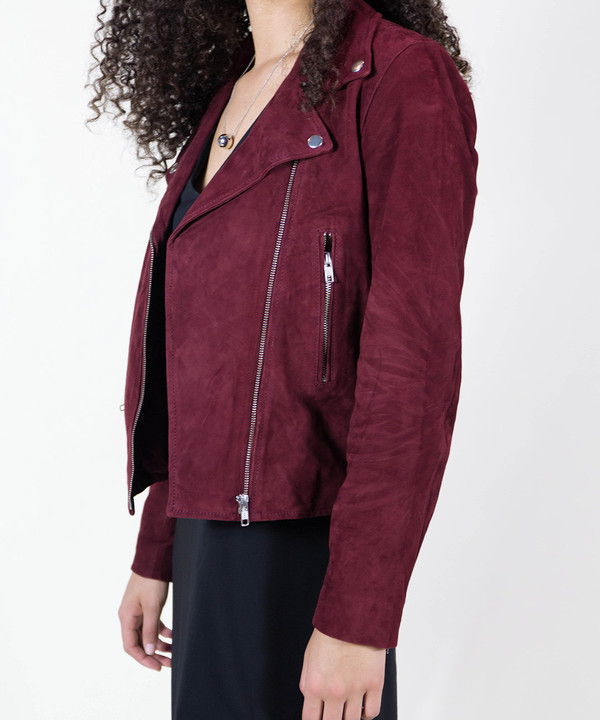 Just Female Suede Jacket