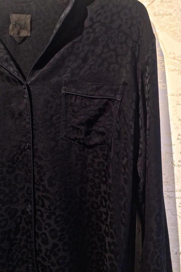 RtA 'Yvonne' Leopard Print PJ Top