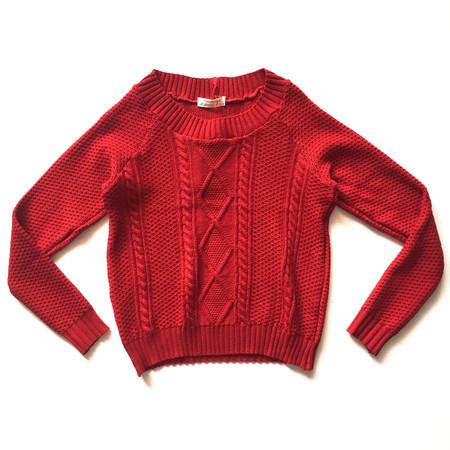 MEEMOZA - SWEATER - Red
