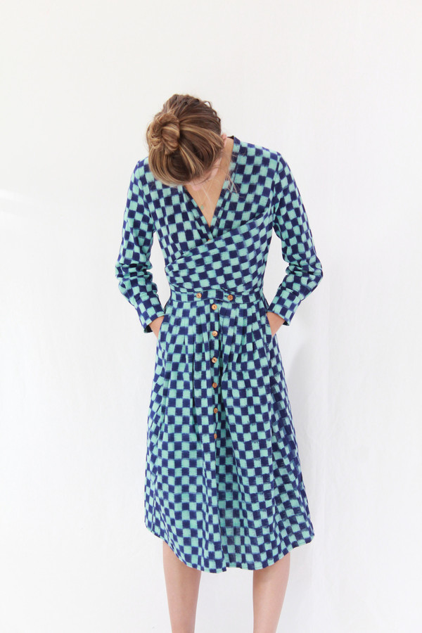 Heinui Octave Dress Ikat
