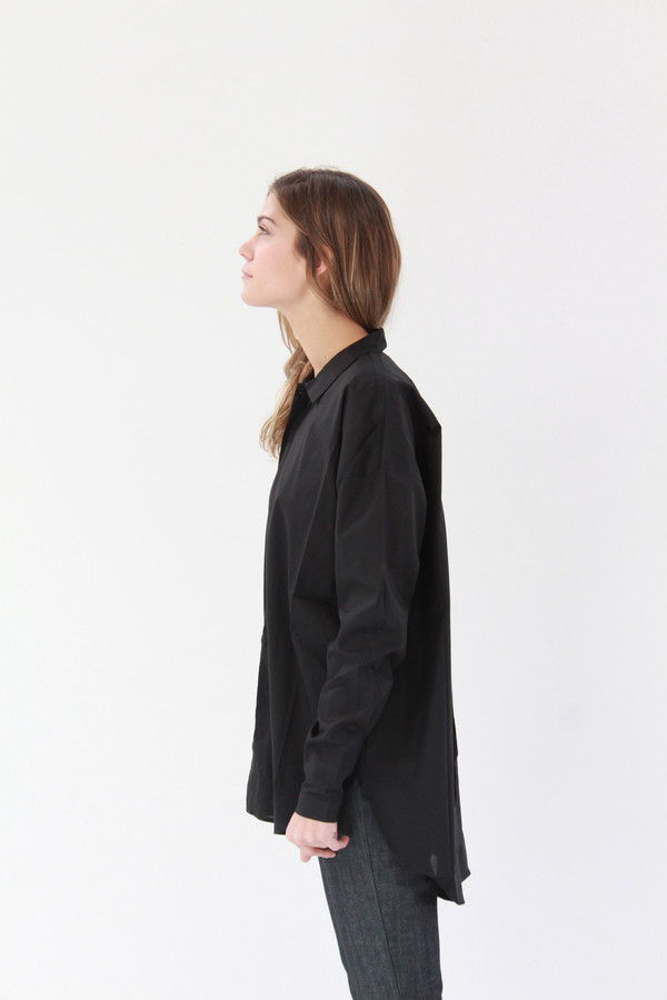 Kowtow Smith Shirt Black
