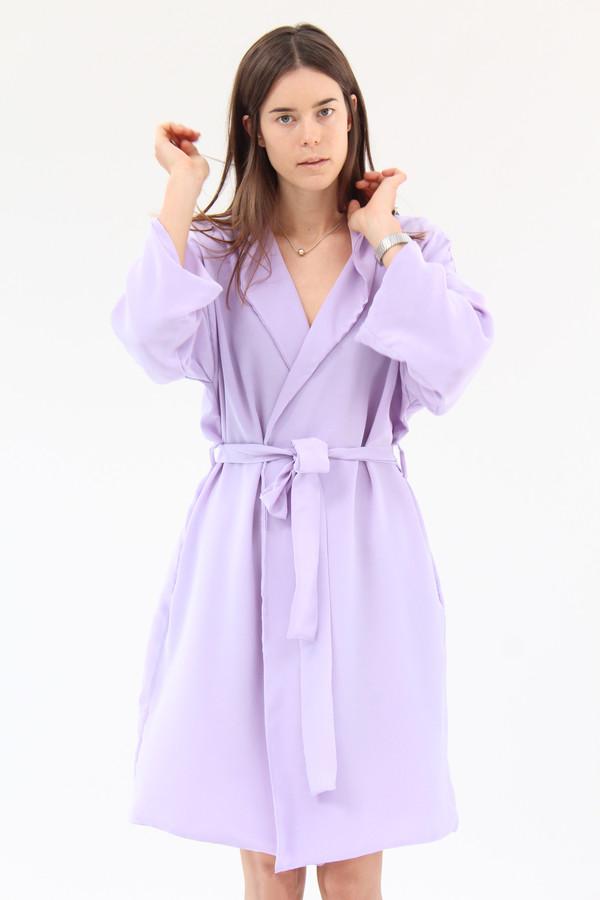 Beklina Silk Robe Lilac