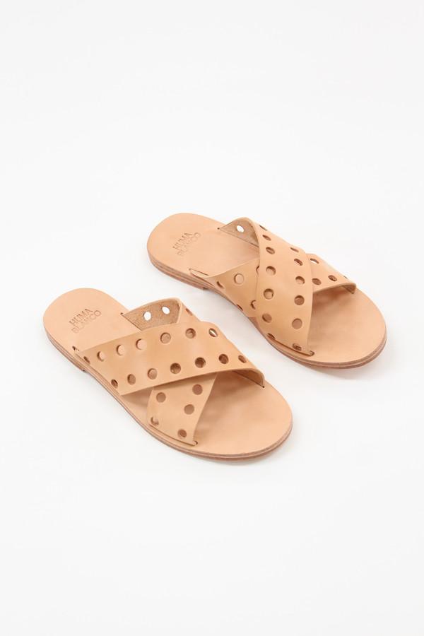 Olga Leather Flats