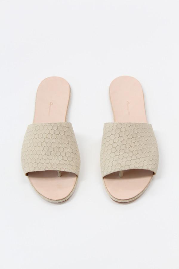 Palatines Caelum Slide Sandal Beige Hex