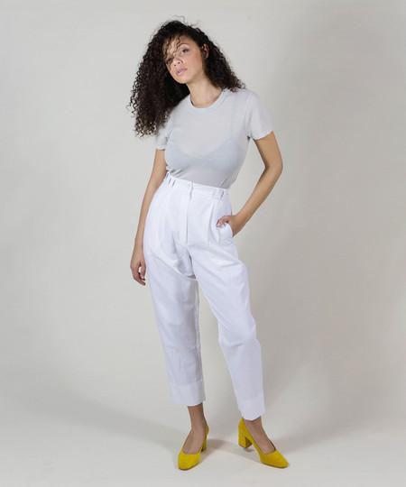 Wray White Fielding Pant